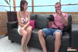 Casting couch busty babe with big boobs fucked on camera.