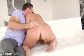 Big dick latin daddy jerking off in front of his cuck.
